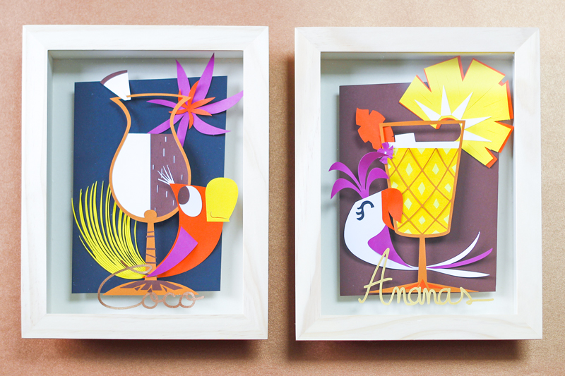 paper art illustration papier