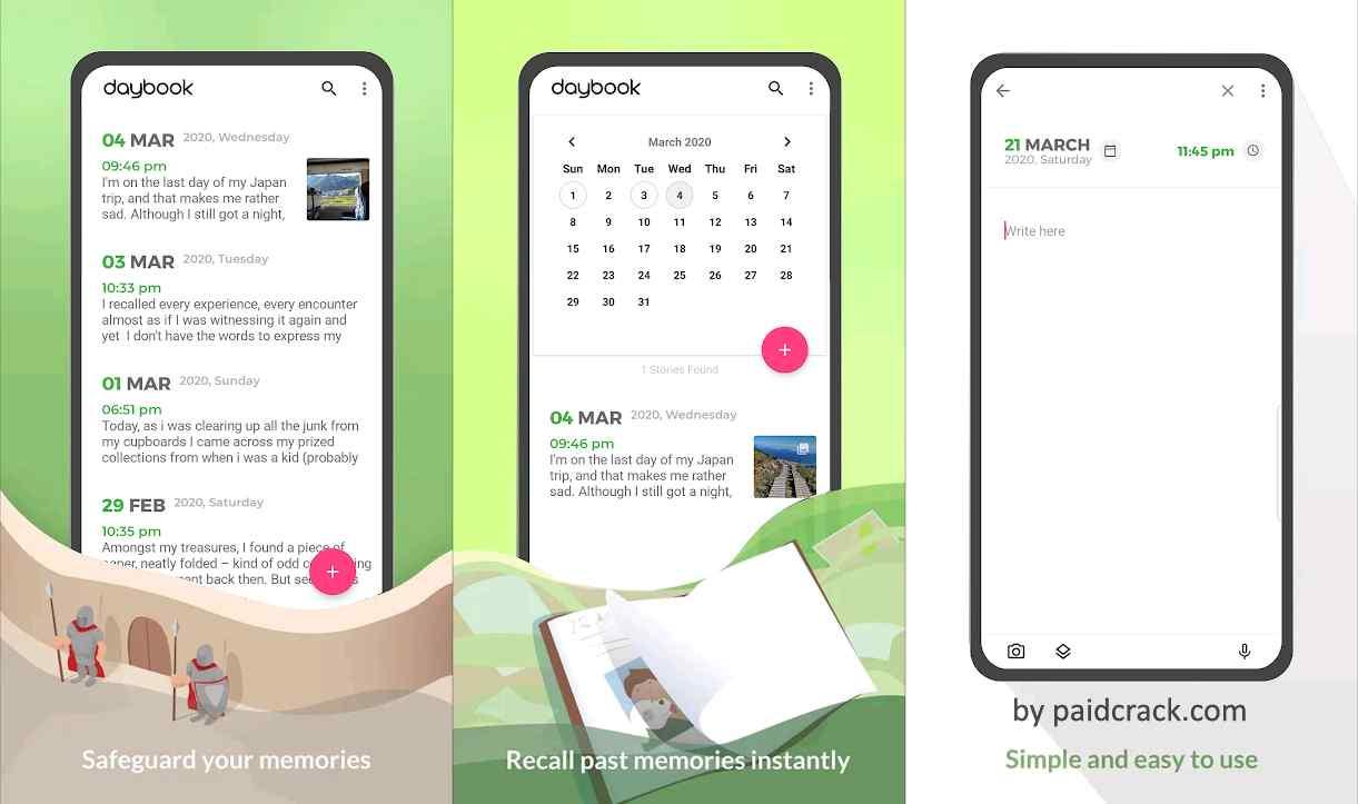 Daybook - Diary, Journal, Note Premium Mod Apk 5.35.0