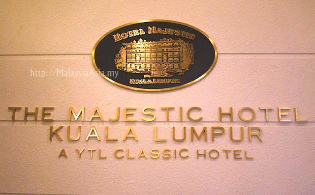 Kuala Lumpur The Majestic Hotel