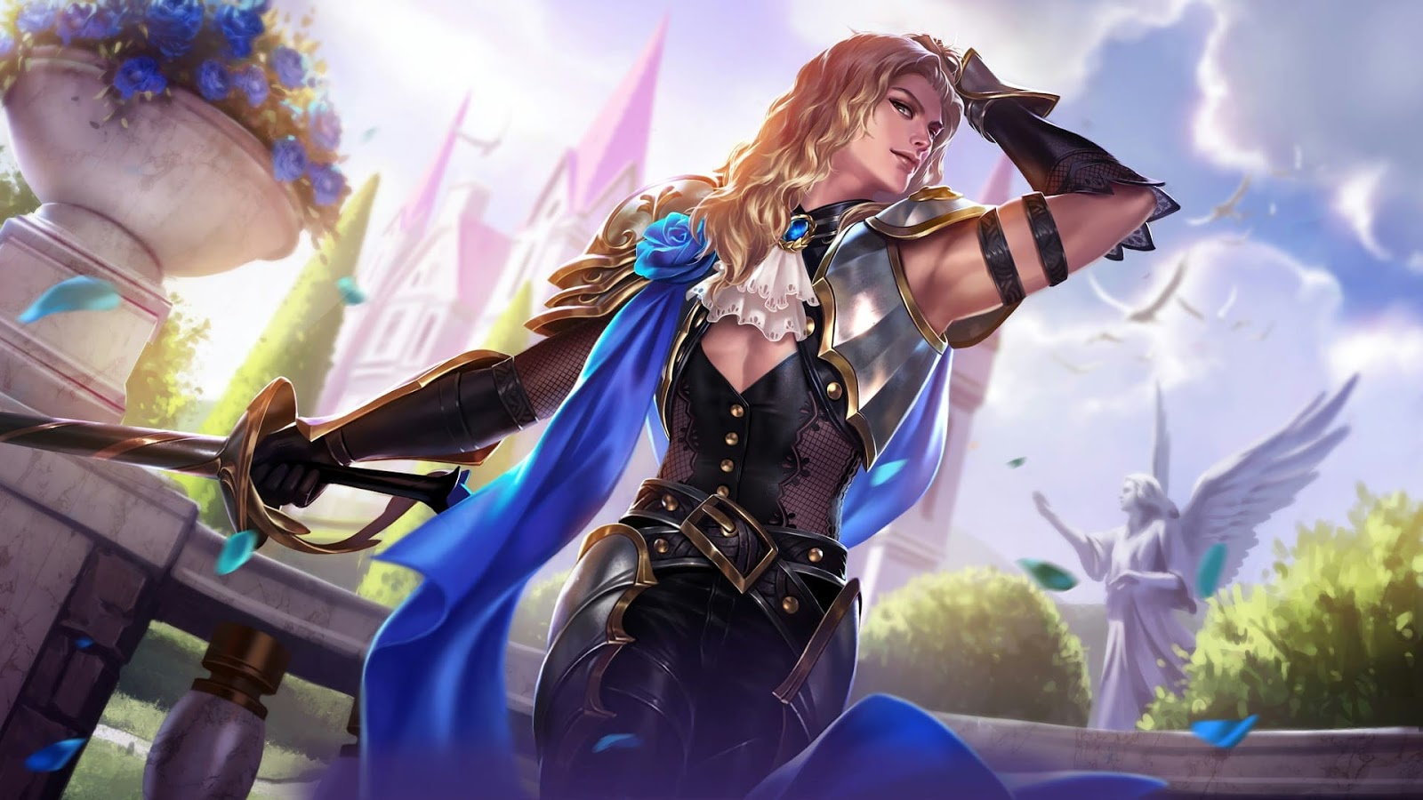 Wallpaper Lancelot Perfumed Knight Skin Mobile Legends HD for PC