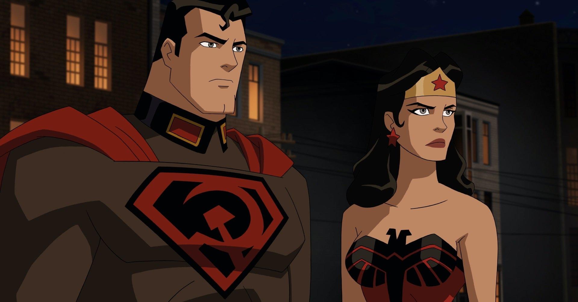 Mulher Maravilha e Superman
