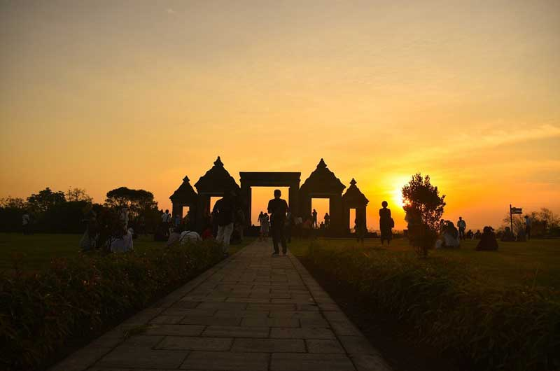 Harga Tiket Masuk Ratu Boko Temple Yogyakarta