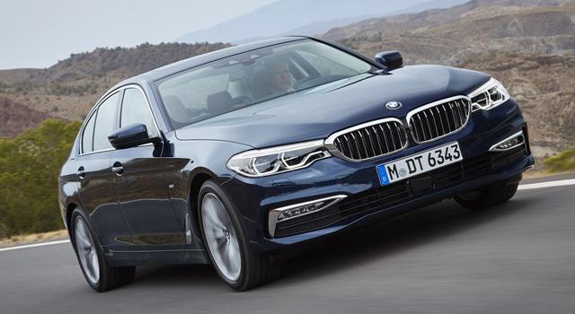 BMW 5-й серии G30 2017-2018
