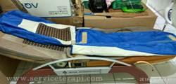 memasang cover kulit baru