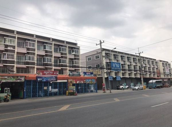 ขายอาคารพาณิชย์ 1 คูหา โครงการบ้านแสนภูมิ บางปะอิน 22 ตร.ว. ใกล้ รพ.บางปะอิน และตลาดเอก
