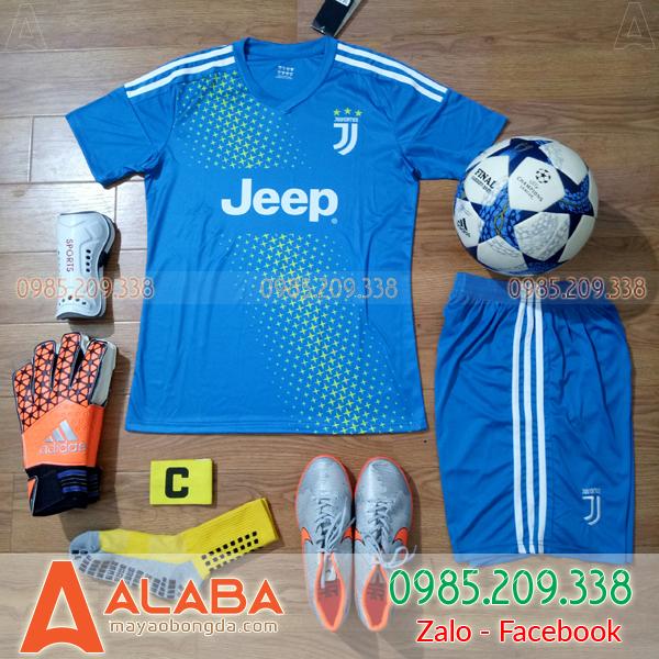 Áo Đá Bóng CLB Juventus 2019 Xanh Dương
