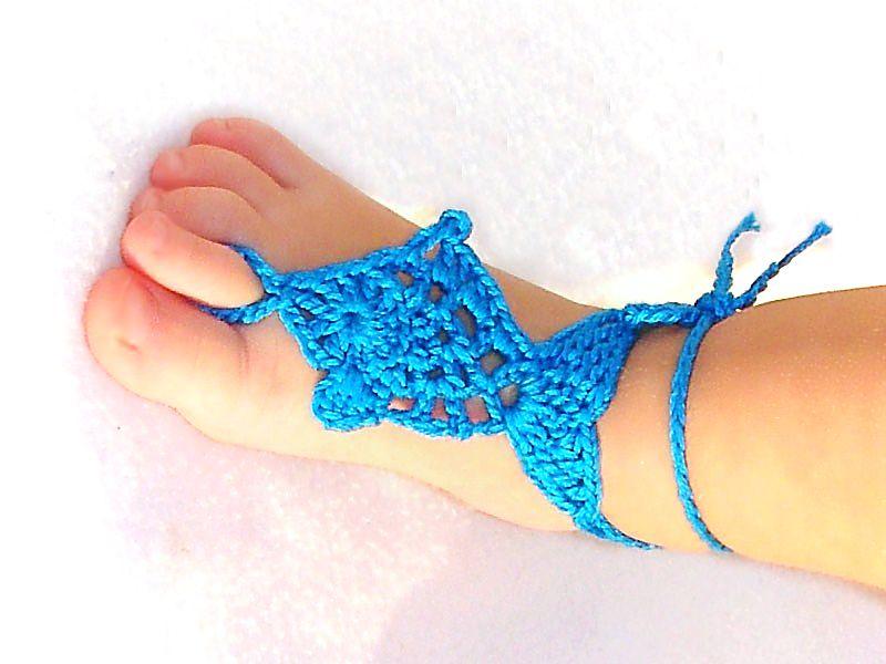 64 Crochet Barefoot Sandal Patterns The Funky Stitch