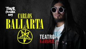 CARLOS BALLARTA regresa a Bogotá en  2019
