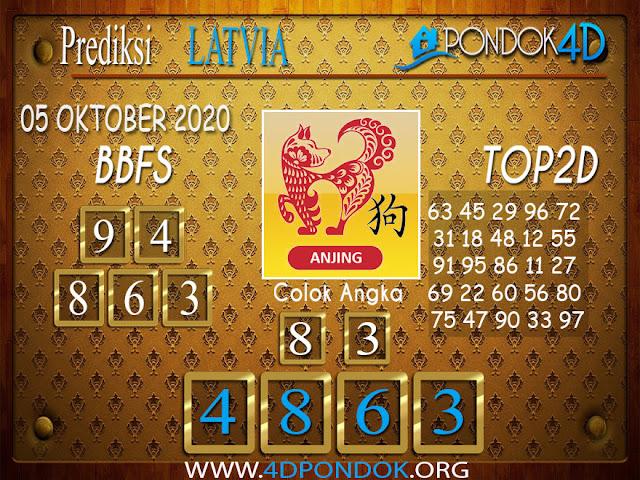Prediksi Togel LATVIA PONDOK4D 05 OKTOBER 2020