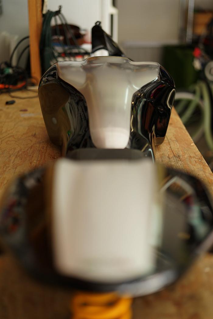 Bullitt 821 custom paint Ducati Monster 821