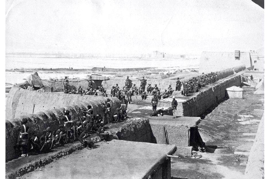 british fortifications at Kabul