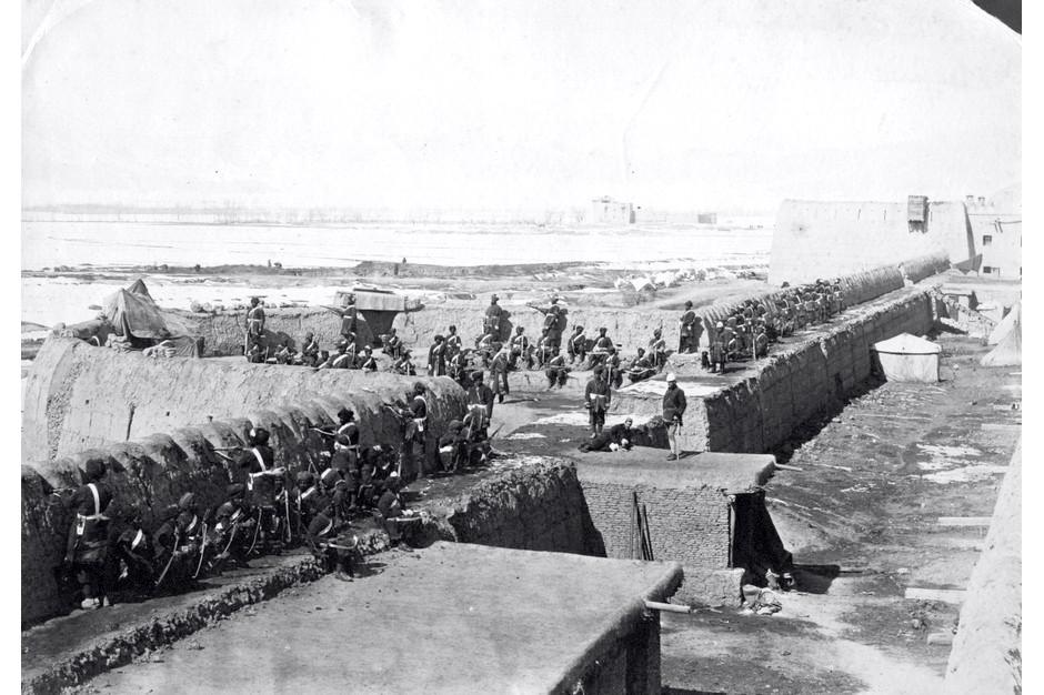 british fortifications at Kabul