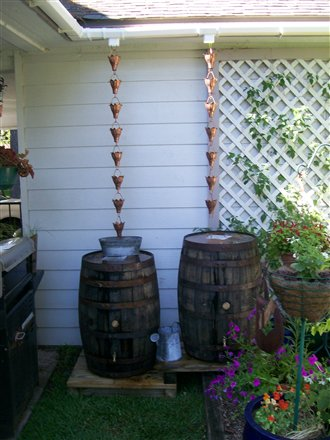 Farm Life Lessons 38 Old Whiskey Rain Barrels I M In