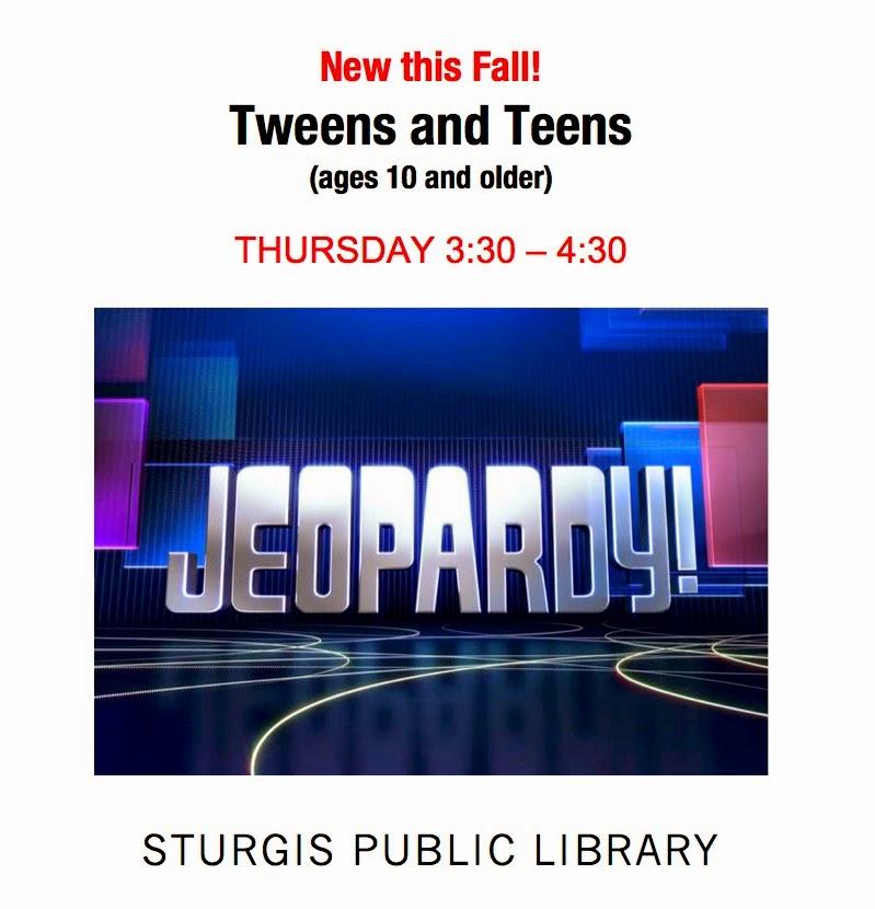 Teen Center On Thursday October 21
