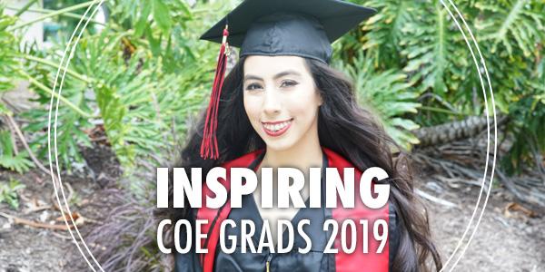 Class of 2019 grad Marina Sanchez