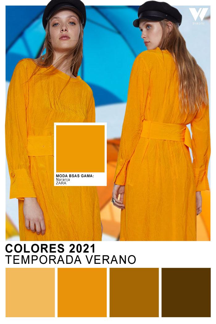 Colores de verano 2021 moda mujer