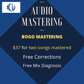 AUDIO MASTERING BOGO SALE