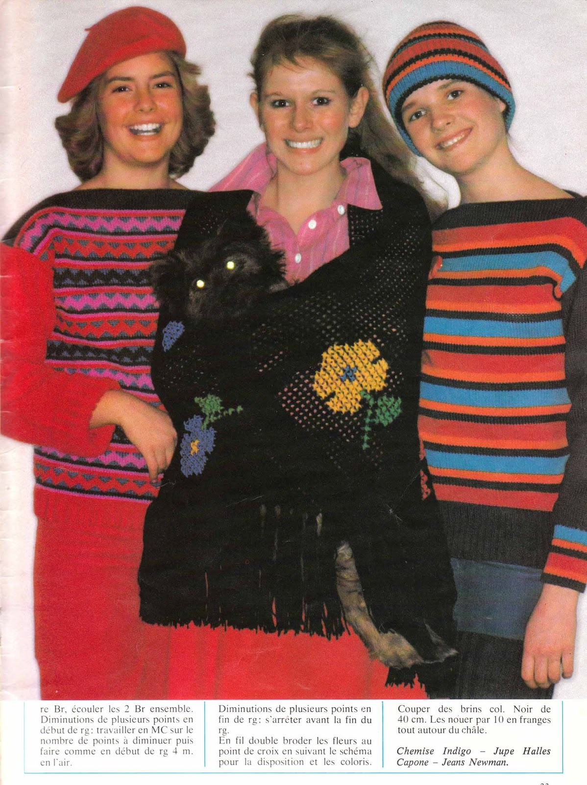 The Vintage Pattern Files 1970 S Knitting Pingouin Special Juniors