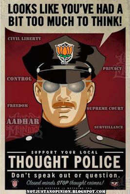 resisting aadhar to save citizens against privacy and mass surveillance