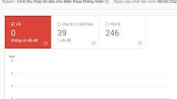 Cách sửa lỗi đường dẫn(Breadcrumbs) được cảnh báo trong Search Console cho blogspot