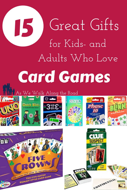 Gifts for kids and adults who love card games