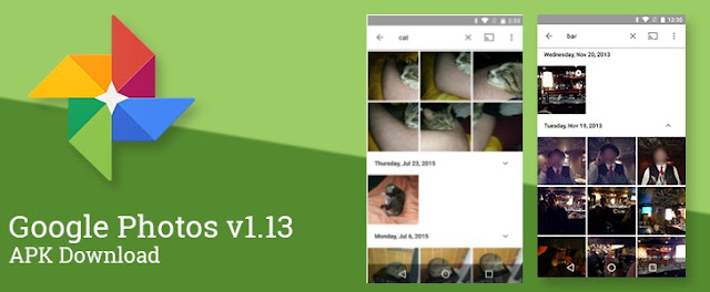 Google Photos v1.13 Released with New Date wise Quick Photo Access(Access To All Photos Taken On The Same Day): Download APK