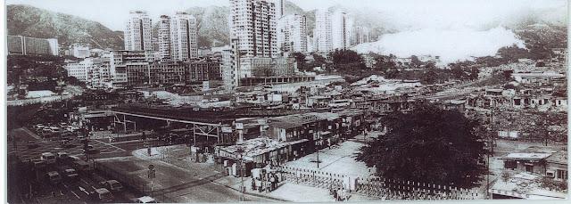 八十年代遠眺鳳凰新村