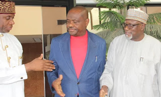 , Is Rotimi Amaechi really Offering A Sincere Handshake to  Governor Wike?, Latest Nigeria News, Daily Devotionals & Celebrity Gossips - Chidispalace
