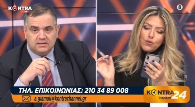 Η στιγμή που ο βουλευτής της ΝΔ… κατάπιε τα λόγια του, καθώς το ψέμα που παπαγάλιζε κατέρρευσε on camera – VIDEO