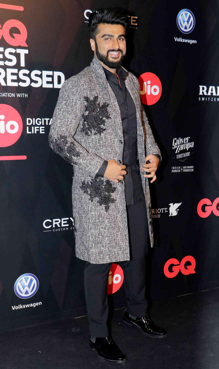 Anil Kapoor and Arjun Kapoor Attends The GQ Best Dressed Awards Event