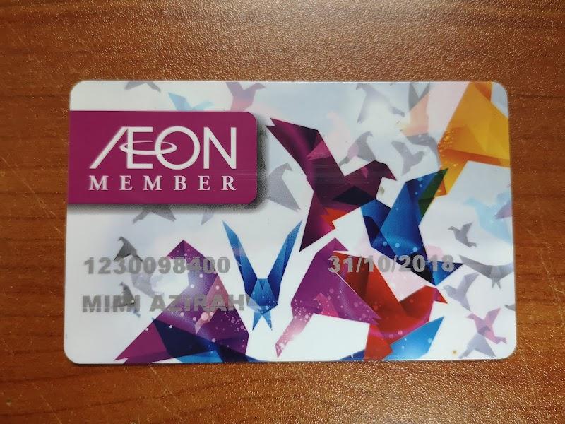 Tukar Aeon Member Card ke Aeon Member Plus Visa Card