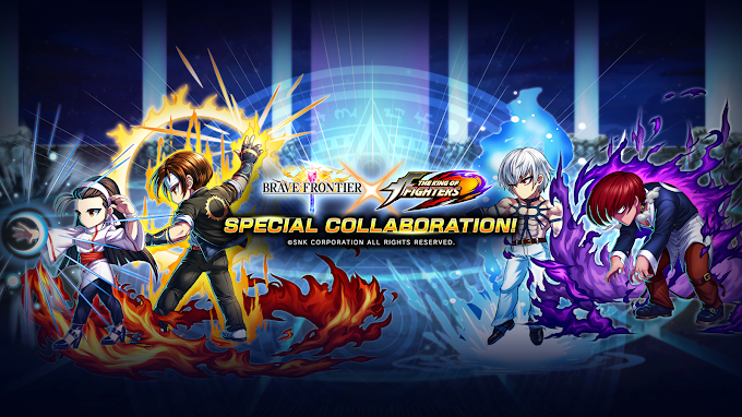 Brave Frontier Crosses Path with King of Fighters, Brings Four New Characters In-game