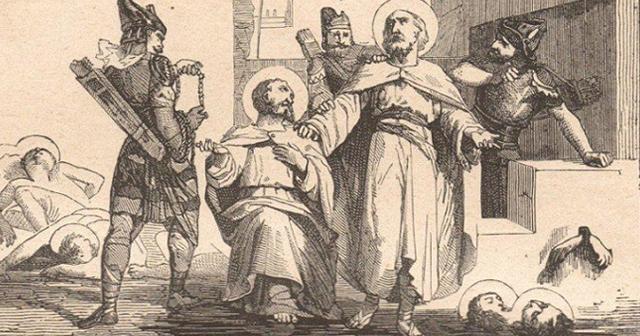 Santo Jonas, Barachisius, dan Sahabat