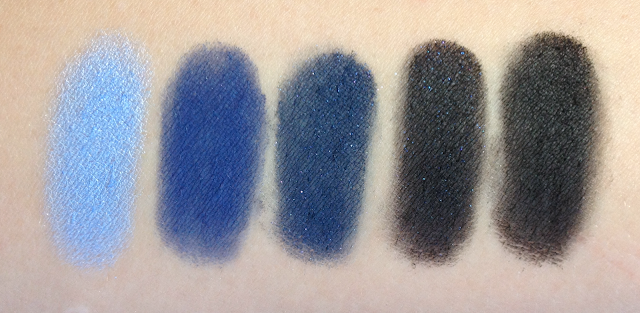Inglot Eyeshadows - Blues and Blacks
