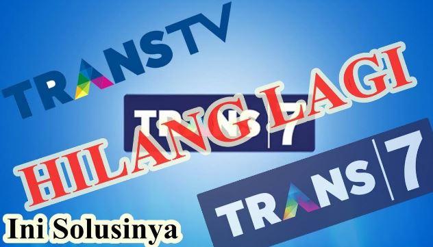 Cara Mencari Frekuensi Trans TV