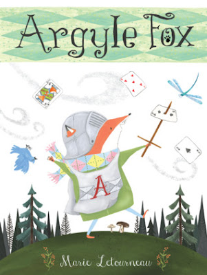 Bea's Book Nook, Review, Argyle Fox, Marie Letourneau