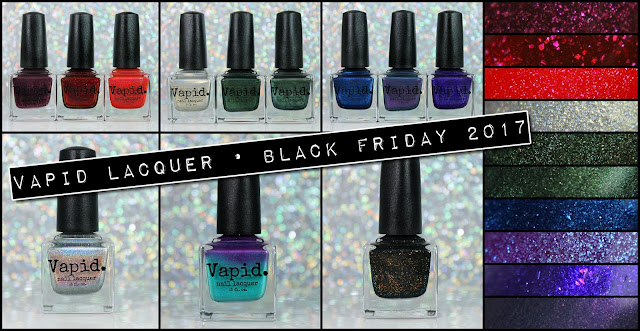Vapid Lacquer Black Friday-Stravaganza 2017