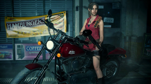 الكشف عن الملابس الكلاسيكية لشخصيات لعبة Resident Evil 2 ، لنشاهد من هنا ..