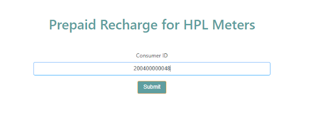 hpl recharge