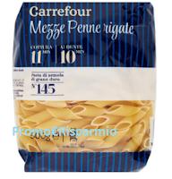 Logo Richiamo prodotto : Pasta Carrefour Mezze penne rigate