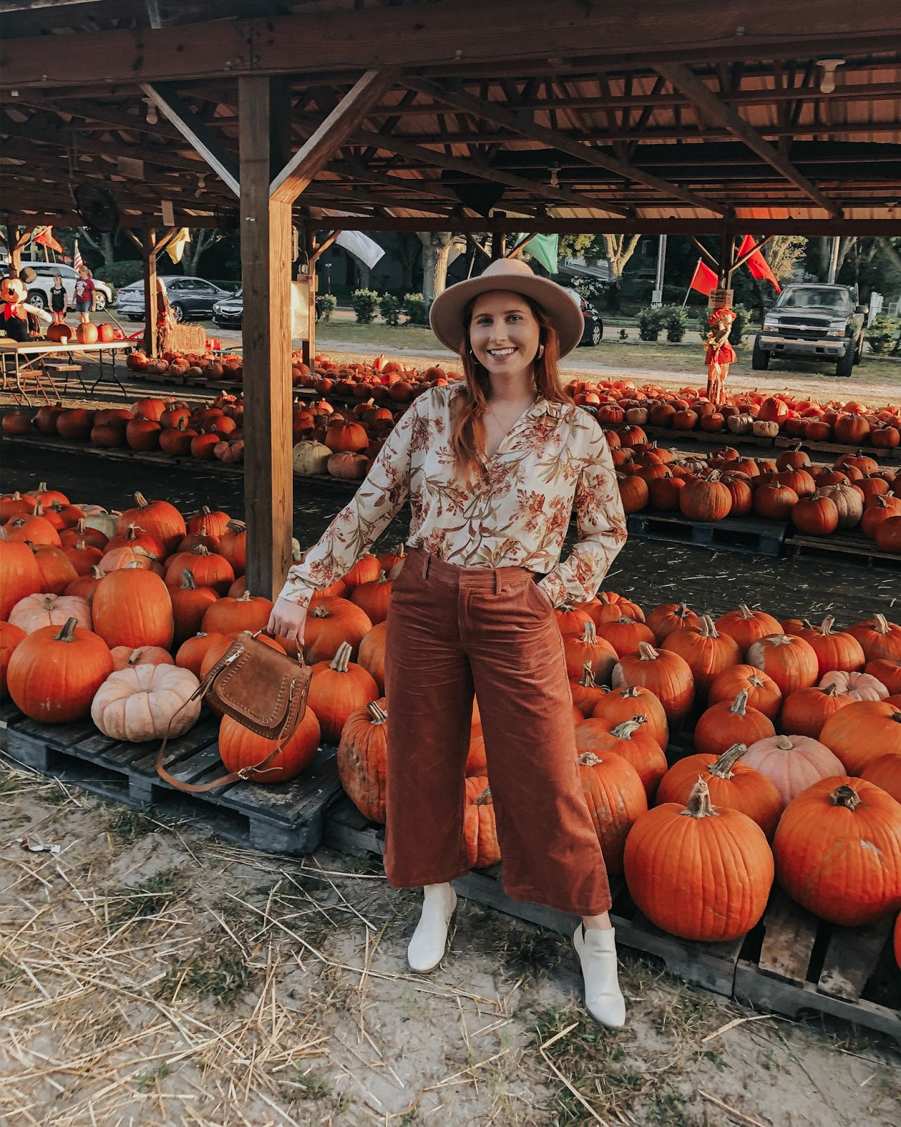 What I Wore to The Pumpkin Patch + The Corduroy Pants You Need This Fall!
