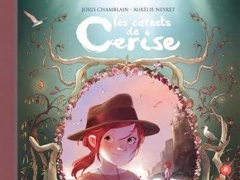 Les carnets de Cerise, tome 4 : La déesse sans visage de Joris Chamblain et Aurélie Neyret