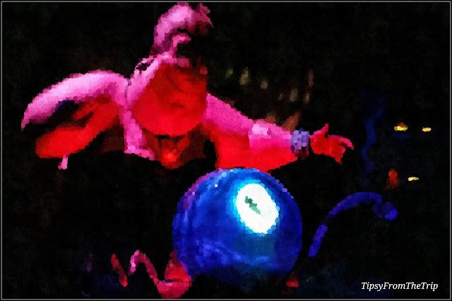 Ursula the sea witch, Disney's Adventure Park