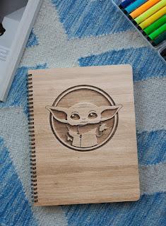 baby yoda notebook