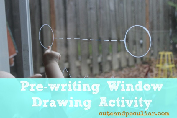 Toddler Approved   Pre writing Window Drawing Activity  via Cute and     Really it s anything that builds muscle control and hand eye coordination   Some more common pre writing exercises are the pre writing worksheets where  kids