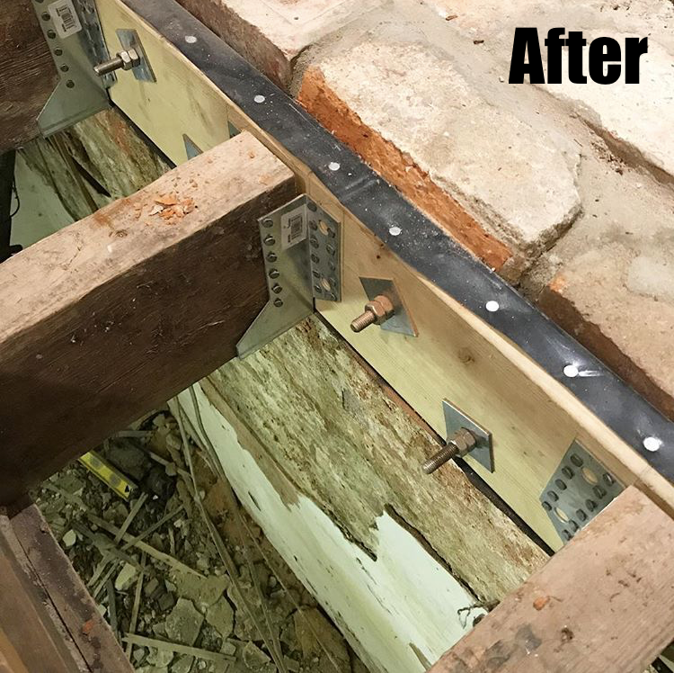 Repairing Rotten Joists After