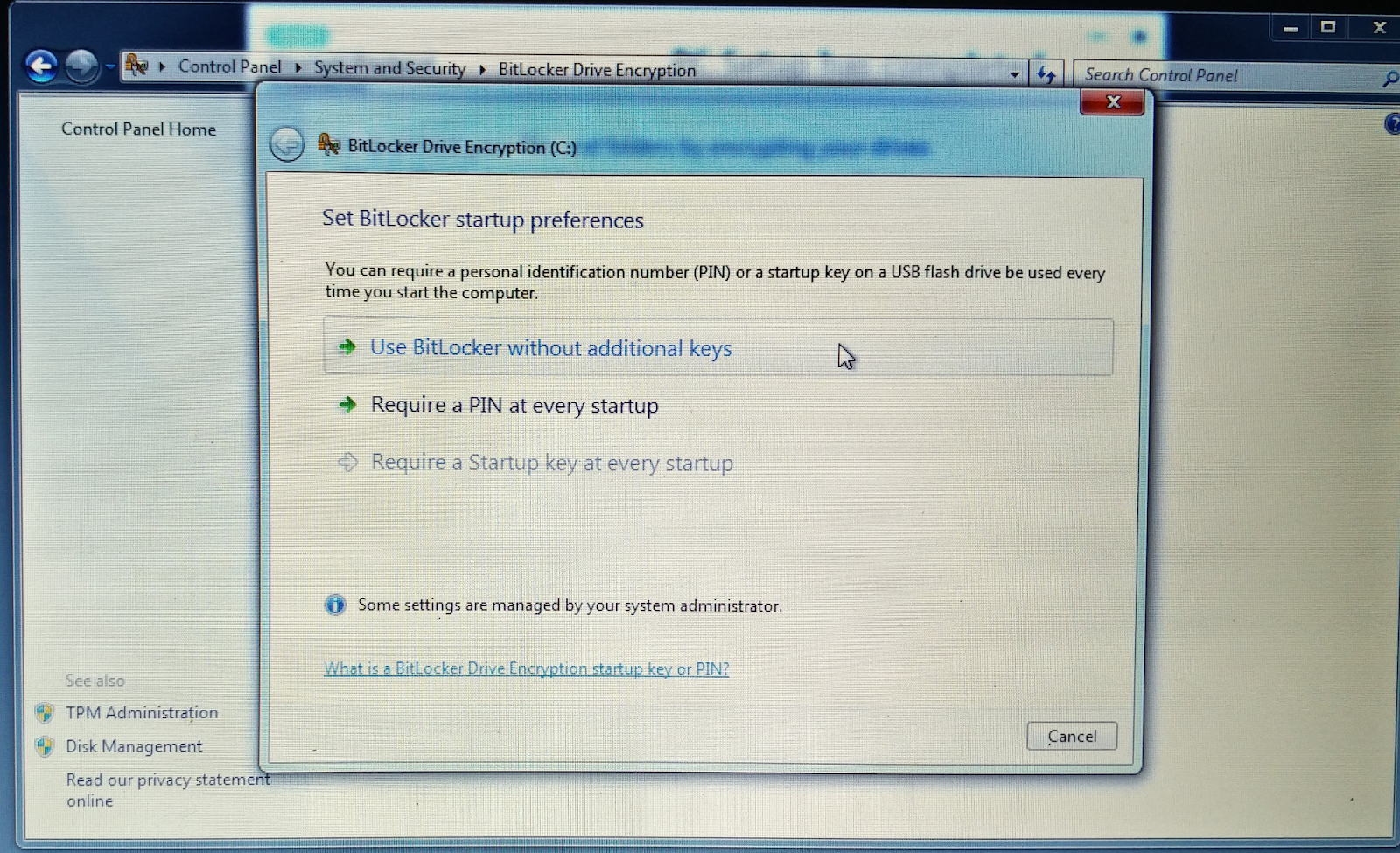 Nothing can stop u    : [Solved] Bitlocker issue with GRUB