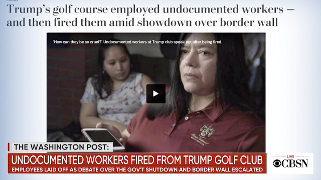 Immigrants fired from Trump clubs seek White House meeting