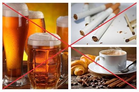 Rượu bia và chất kích thích là những sản phẩm cấm đối với người mắc bệnh động kinh