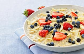 Resep oatmeal buah Untuk Diet